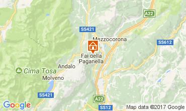 Mapa Andalo - Fai della Paganella Apartamentos 104639