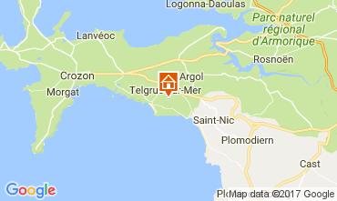 Mapa Telgruc-sur-Mer Casa 108074