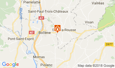 Mapa Suze la Rousse Casa 113750
