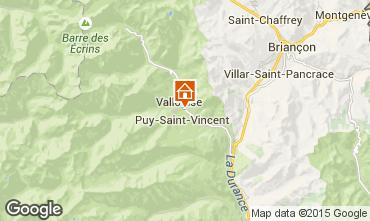 Mapa Puy Saint Vincent Chalé 94407