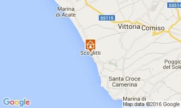 Mapa Scoglitti Apartamentos 71287