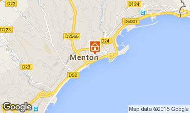Mapa Menton Apartamentos 61473