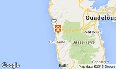 Mapa Bouillante Cabana nas árvores 83872