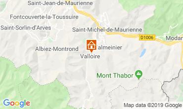 Mapa Valloire Chalé 116466