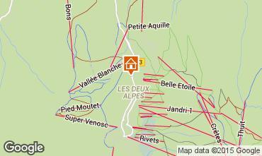 Mapa Les 2 Alpes Estúdio 73843