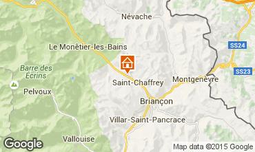 Mapa Serre Chevalier Chalé 30547