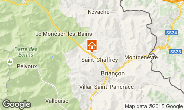 Mapa Serre Chevalier Chal� 30547