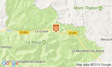 Mapa Villar-d'Arêne Chalé 113346