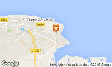 Mapa Arcachon Apartamentos 81944