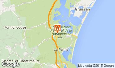 Mapa Sigean Casa 49038
