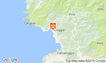 Mapa Ajaccio Apartamentos 114246