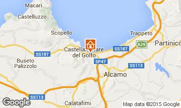 Mapa Castellammare del Golfo Apartamentos 67566