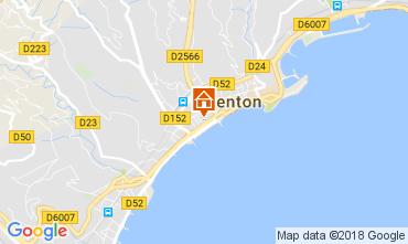 Mapa Menton Apartamentos 113300