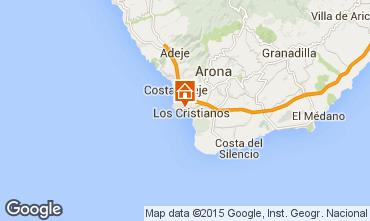 Mapa Los Cristianos Apartamentos 70136