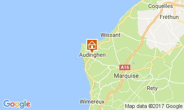 Mapa Audinghen Vivenda 109514