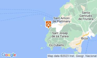 Mapa Ibiza Apartamentos 15805