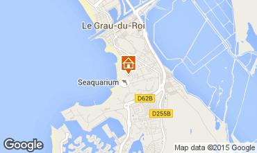 Mapa Le Grau du Roi Apartamentos 92304