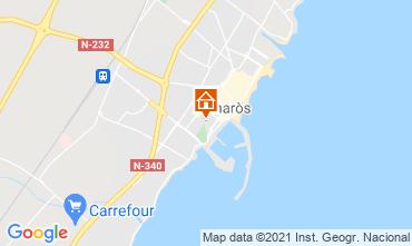 Mapa Vinaròs Apartamentos 85105