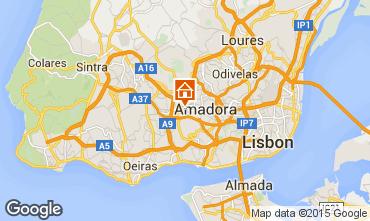 Mapa Lisboa Apartamentos 98329