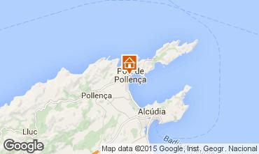 Mapa Puerto Pollensa Apartamentos 69561