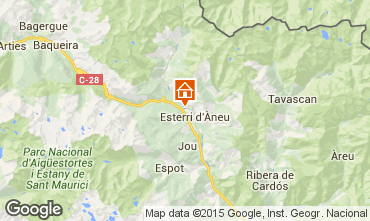 Mapa Baqueira-Beret Chal� 27954