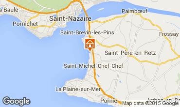 Mapa Saint Brevin les Pins Apartamentos 97808