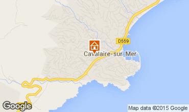 Mapa Cavalaire-sur-Mer Apartamentos 76631