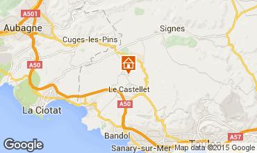 Mapa Le Castellet Vivenda 79364