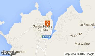 Mapa Santa Teresa di Gallura Apartamentos 98963