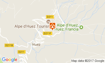 Mapa Alpe d'Huez Estúdio 93111