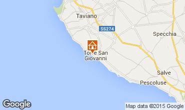 Mapa Ugento - Torre San Giovanni Apartamentos 70848