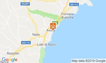 Mapa Avola Alojamento insólito/Moradia atípica  109962
