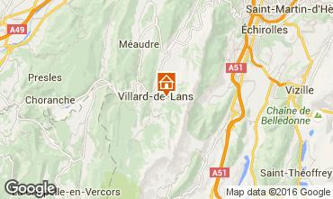 Mapa Villard de Lans - Corren�on en Vercors Casa de turismo rural/Casa de campo 19078