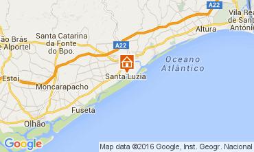Mapa Tavira Casa 104084