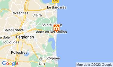 Mapa Canet Apartamentos 113306