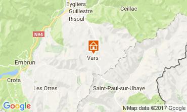 Mapa Vars Apartamentos 15516