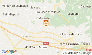 Mapa Carcassonne Casa de turismo rural/Casa de campo 111060