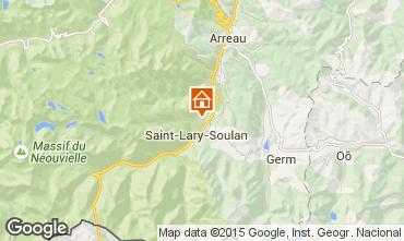 Mapa Saint Lary Soulan Casa de turismo rural/Casa de campo 72319