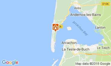 Mapa Cap Ferret Vivenda 36556