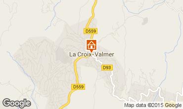 Mapa La Croix Valmer Vivenda 62547