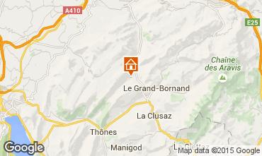 Mapa La Clusaz Chalé 72056