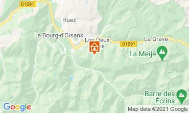 Mapa Les 2 Alpes Apartamentos 1219