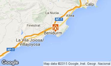 Mapa Benidorm Apartamentos 60317