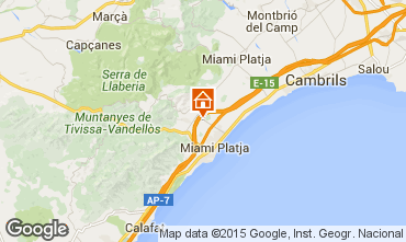 Mapa Miami Playa Vivenda 23136