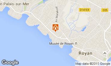 Mapa Royan Apartamentos 68733