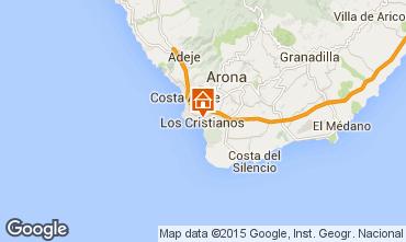 Mapa Los Cristianos Apartamentos 88879