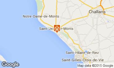 Mapa Saint Jean de Monts Apartamentos 50925
