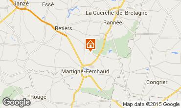 Mapa Rennes Casa de turismo rural/Casa de campo 59774