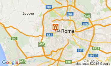 Mapa Roma Apartamentos 66395