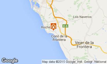 Mapa Conil de la Frontera Chalé 94657